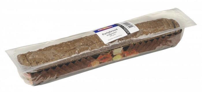 Partybrood meergranen zuurstofarm verpakt (200g)