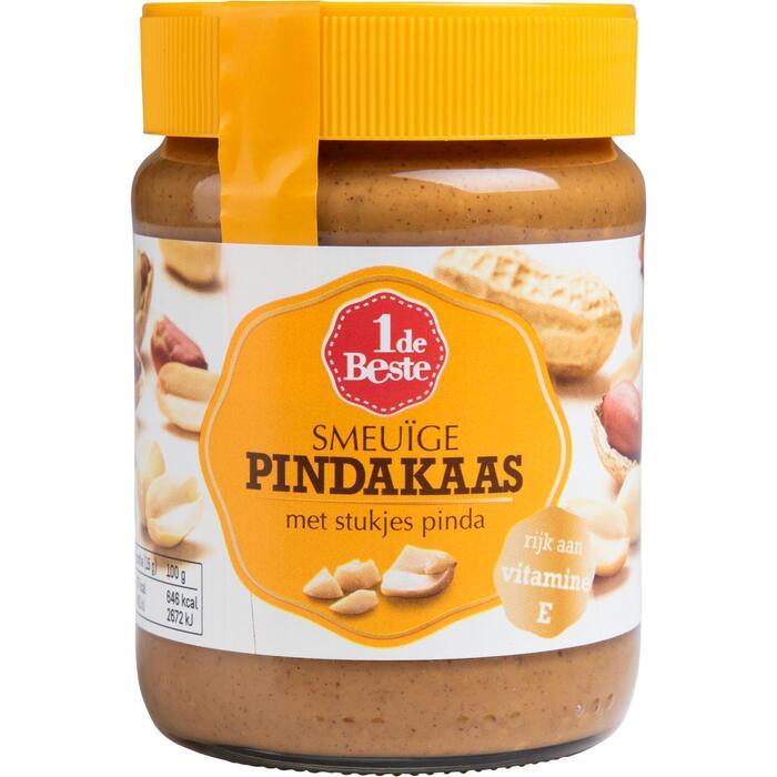 Pindakaas met stukjes pinda (350g)