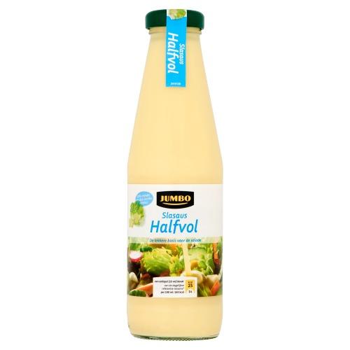 Slasaus Halfvol (glazen fles, 0.5L)
