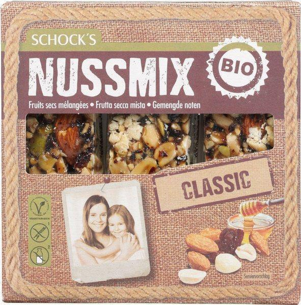 Notenrepen mix honing (75g)