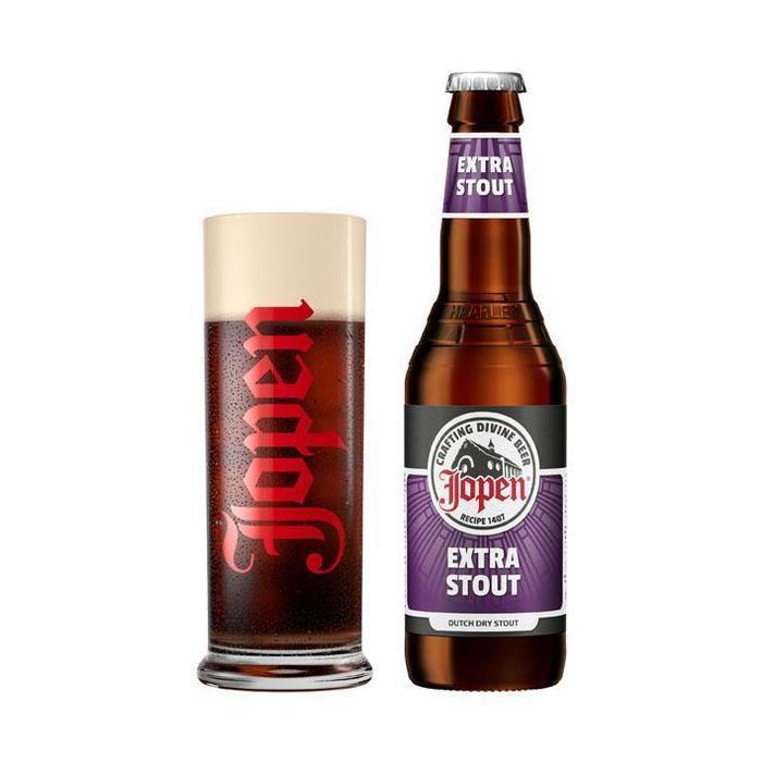 Jopen Extra Stout (glas, 33cl)