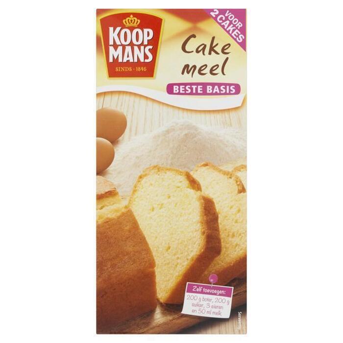Koopmans Cakemeel voor 2 cakes (500g)