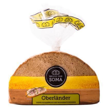 Roggebrood oberlander (Stuk, 400g)