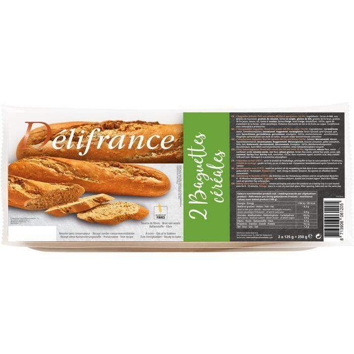 2 Baguettes Céréales (Stuk, 2 × 250g)