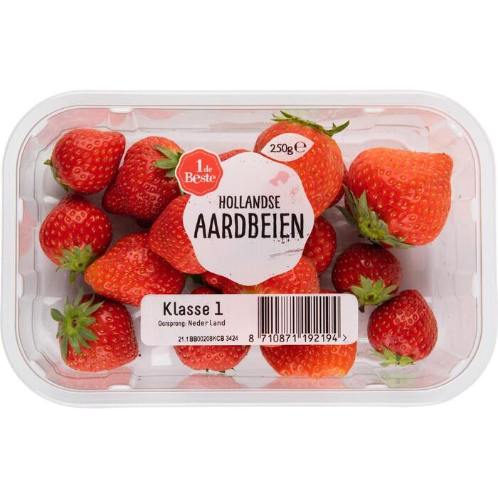 Hollandse aardbeien (250g)