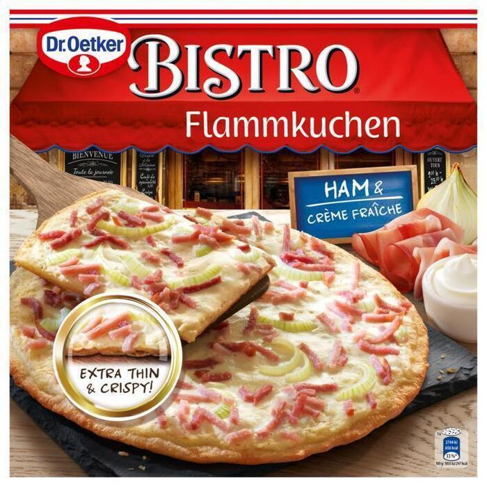 Dr. Oetker Bistro Flammkuchen Ham & Crème Fraîche 265g (280g)