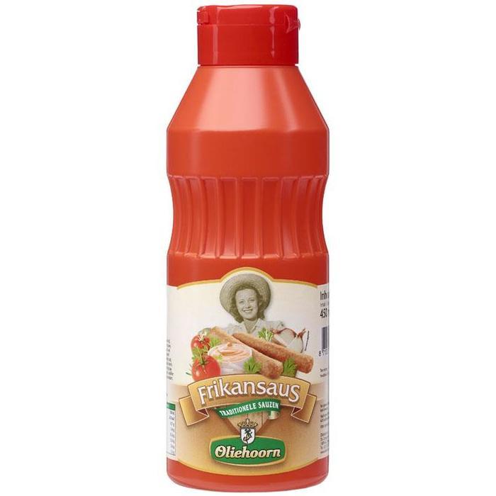 Oliehoorn Frikansaus Knijpfles 450 ml (45cl)