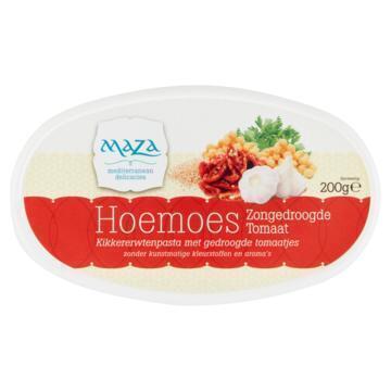Hoemoes zongedroogde tomaat (bak, 200g)