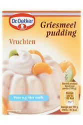 Griespudding Vruchten (85g)