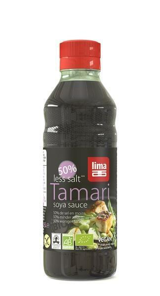 Tamari 50% minder zout 250ml (250ml)