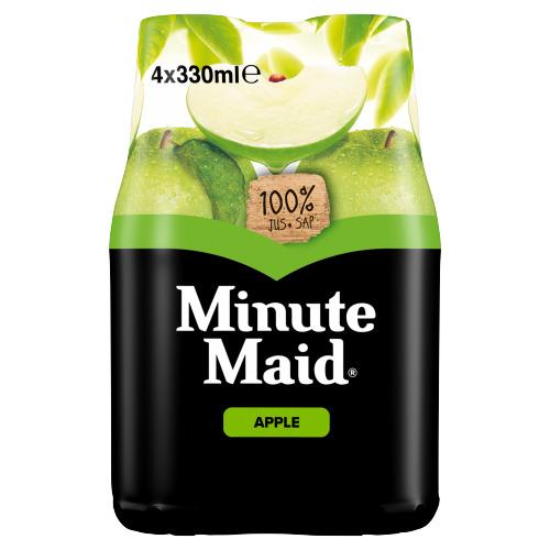 Minute Maid Appel PET 0.33L 1x4 (4 × 33cl)