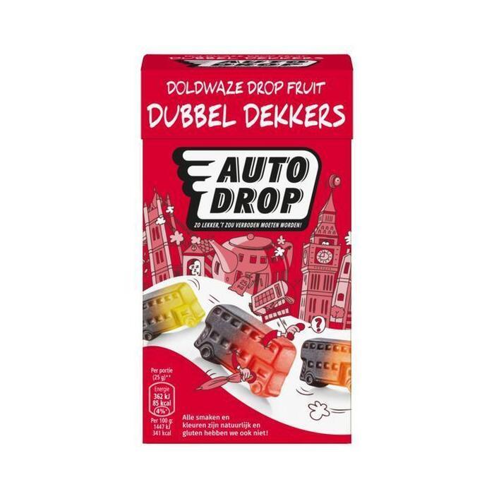 Autodrop Dubbeldekkers (280g)