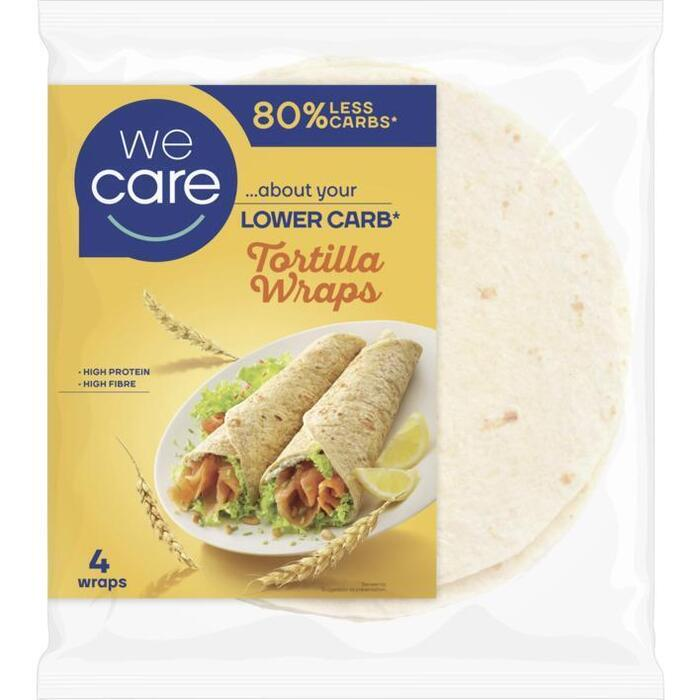 We Care Tortilla Wraps 4 x 40 g (160g)