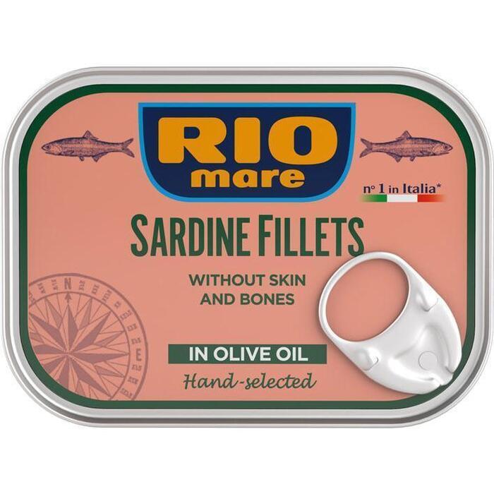 Rio Mare Sardine filets in olio d'oliva (105g)