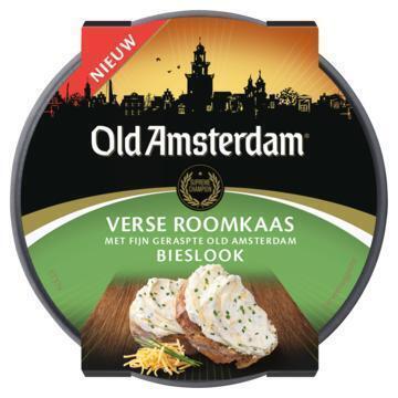 Old Amsterdam Verse Roomkaas Bieslook 125 g (125g)