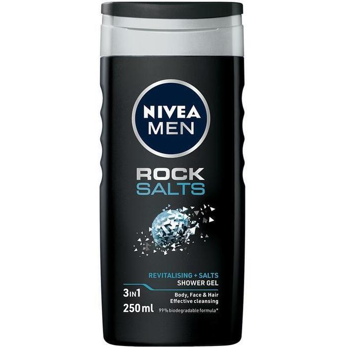 Nivea Men rock salts douchegel (250ml)