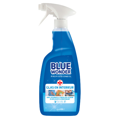 Blue Wonder Glas en Interieur Professioneel 1000 ml (1L)