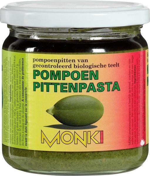 Pompoenpittenpasta (pot, 330g)