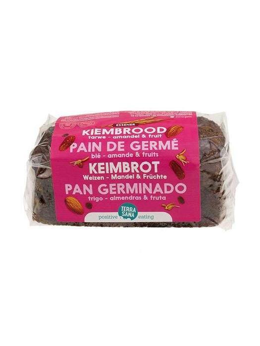 Gekiemd brood noten-zuidvruchten (zak, 400g)