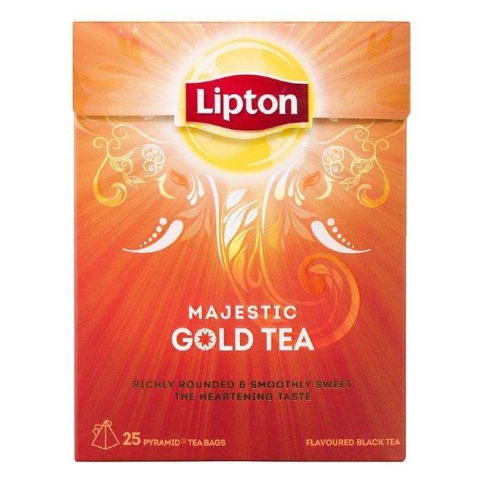 Lipton Majestic gold tea 1-kops (Stuk, 25 × 48g)