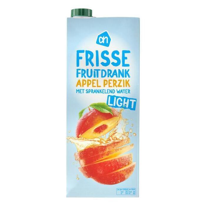 Frisse Fruitdrank Appel & Perzik, Light (pak, 1.5L)