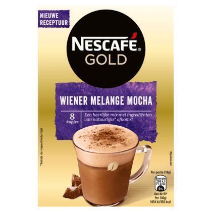 Nescafé Wiener melange mocha (8 × 18g)