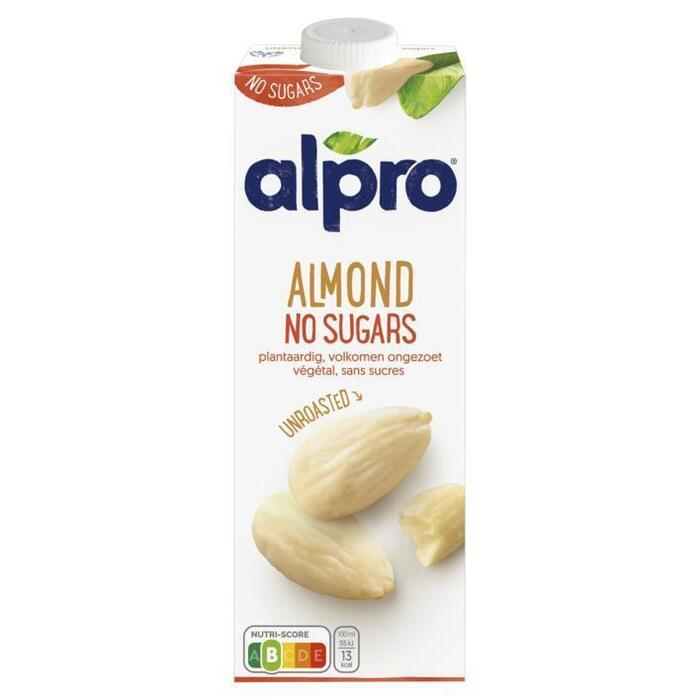Drink almond unsweetened unroasted (1L)