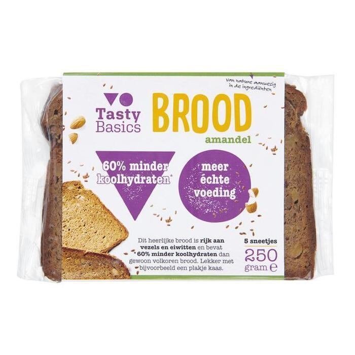 TastyBasics Brood amandel (250g)