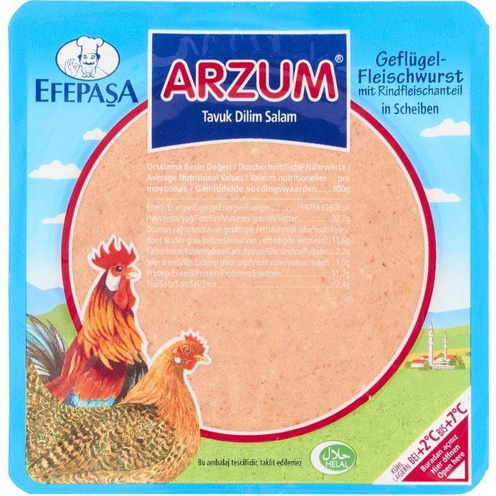 Efepasa Kalkoenvleesworst 200 g (Stuk, 200g)