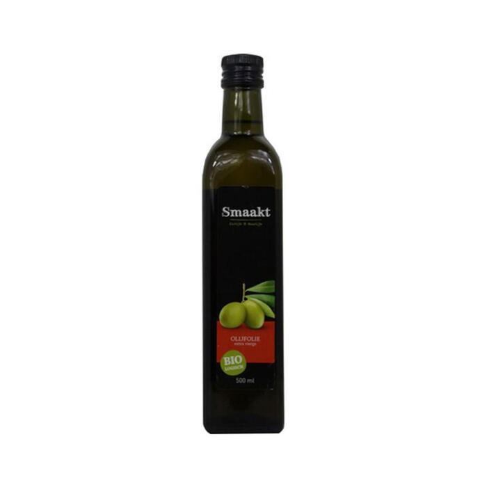 Biologische Olijfolie Extra Vierge (glazen fles, 0.5L)