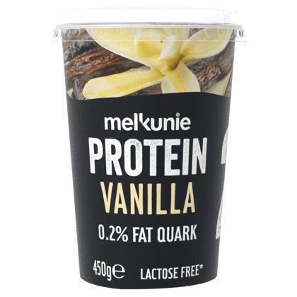 Melkunie Protein kwark vanille (450g)