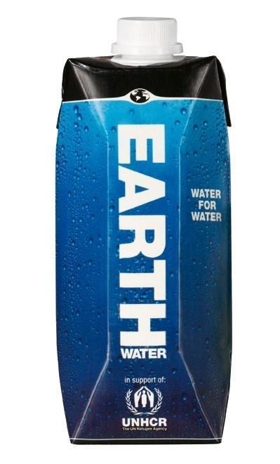 Earth Water (kartonnenpak, 0.5L)