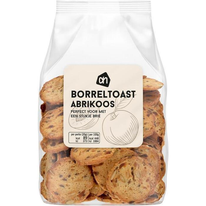 AH Borreltoast voor kaas abrikoos (100g)