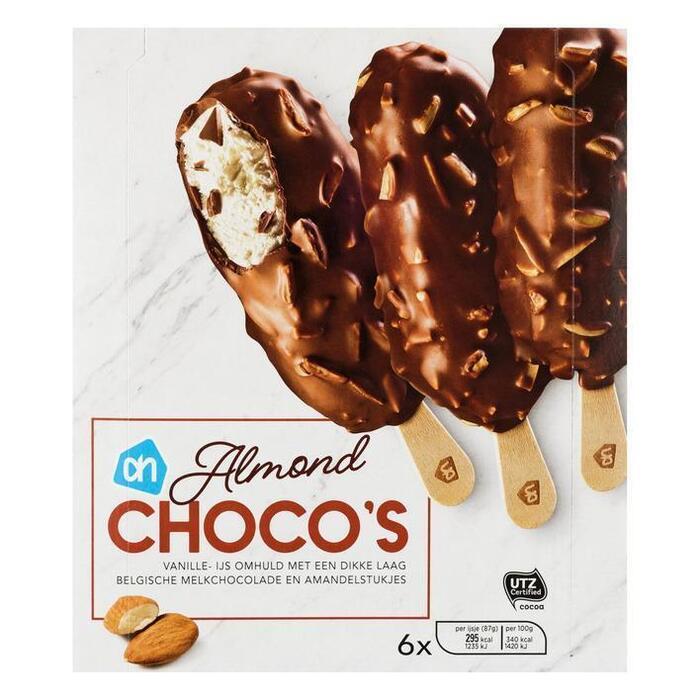 AH Chocolade almond ijs (6 st.)
