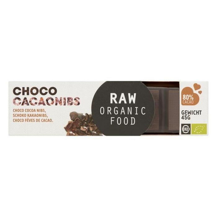 Choco Reep Cacaonibs RAW Bio (45g)