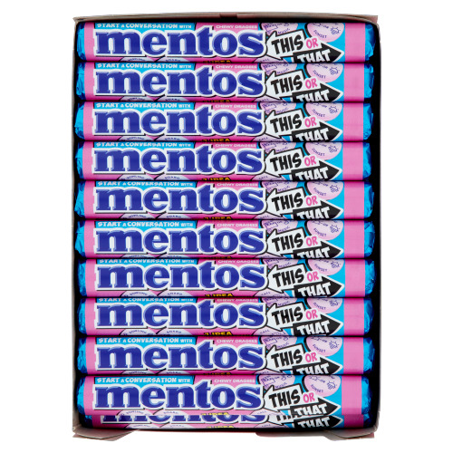 Mentos® Chewy Dragees Flavour Bubble Fresh Limited Edition 40 x 37,5 g (37.5g)