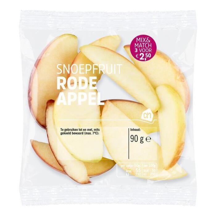 AH Snoepfruit rode appel (90g)