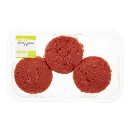 Biefstuk tartaar 3 stuks (270g)
