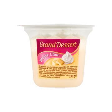 Grand dessert witte chocola (190g)
