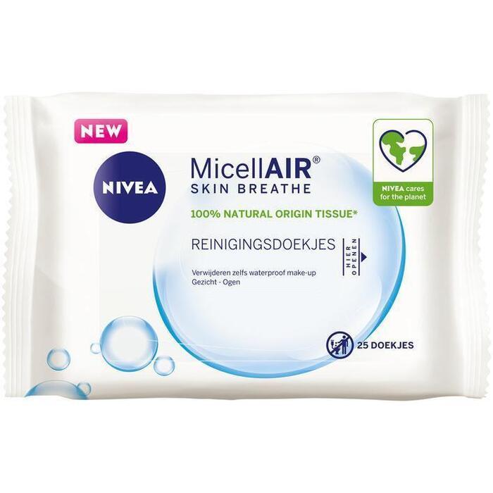 Nivea Skin breathe micellair reinigingsdoekjes