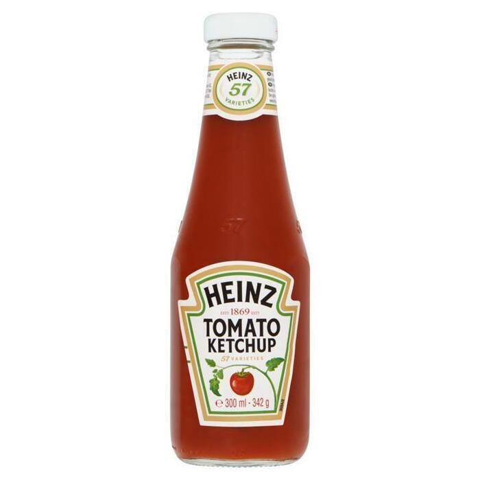 Tomatenketchup (glazen fles, 342g)