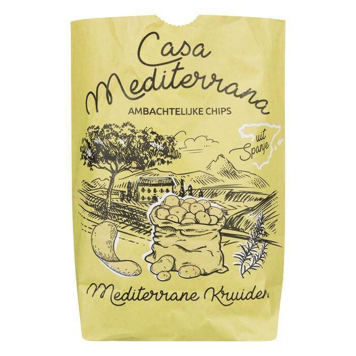 Casa Mediterrana Chips mediterrane kruiden (150g)