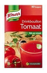 Knorr Drinkbouillon Tomaat 80x6 (648g)