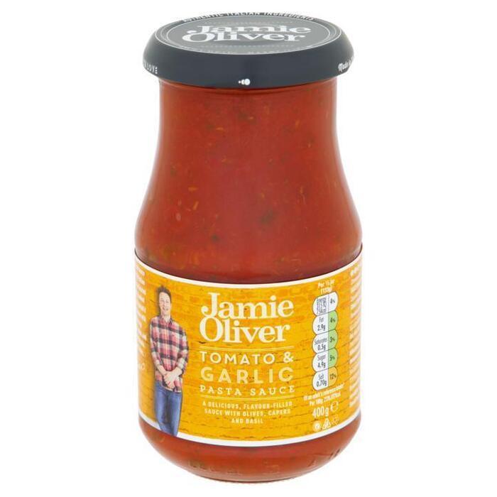 Pastasaus tomato, olive and garlic (400g)