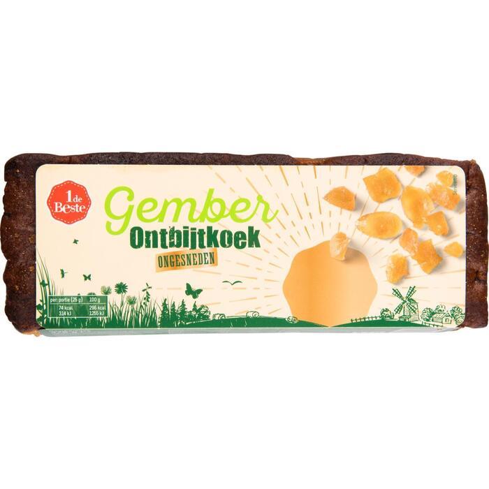 1 de Beste Gemberkoek 475 Gram (475g)