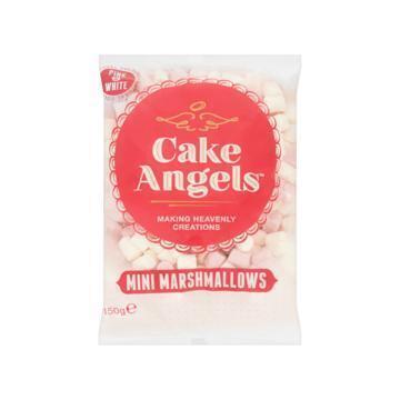 Cake Angels Mini Marshmallows Pink & White 150g (150g)