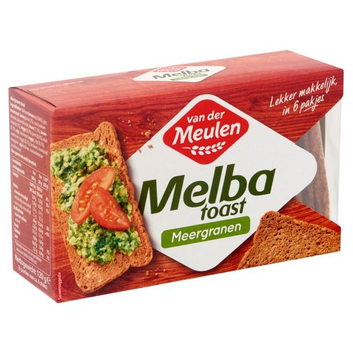 Melba Toast meergranen (100g)