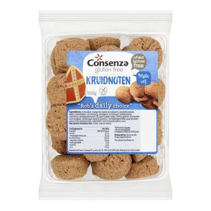 Kruidnoten glutenvrij en LV (150g)