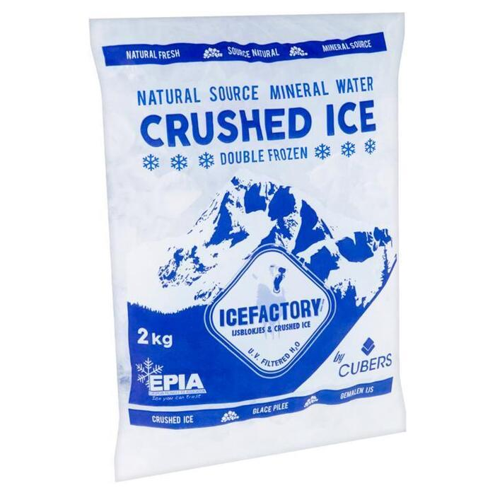 ICEFACTORY CRUSHED ICE (2kg)