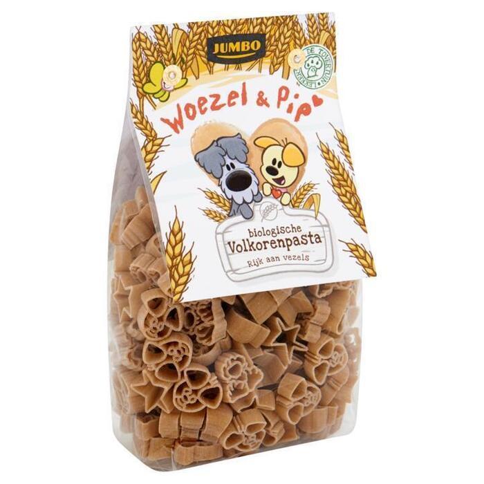Jumbo Woezel & Pip Biologische Volkoren Pasta 250g (250g)